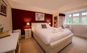 Garden Court - Bedroom 2 has an en suite shower room and views over the front garden
