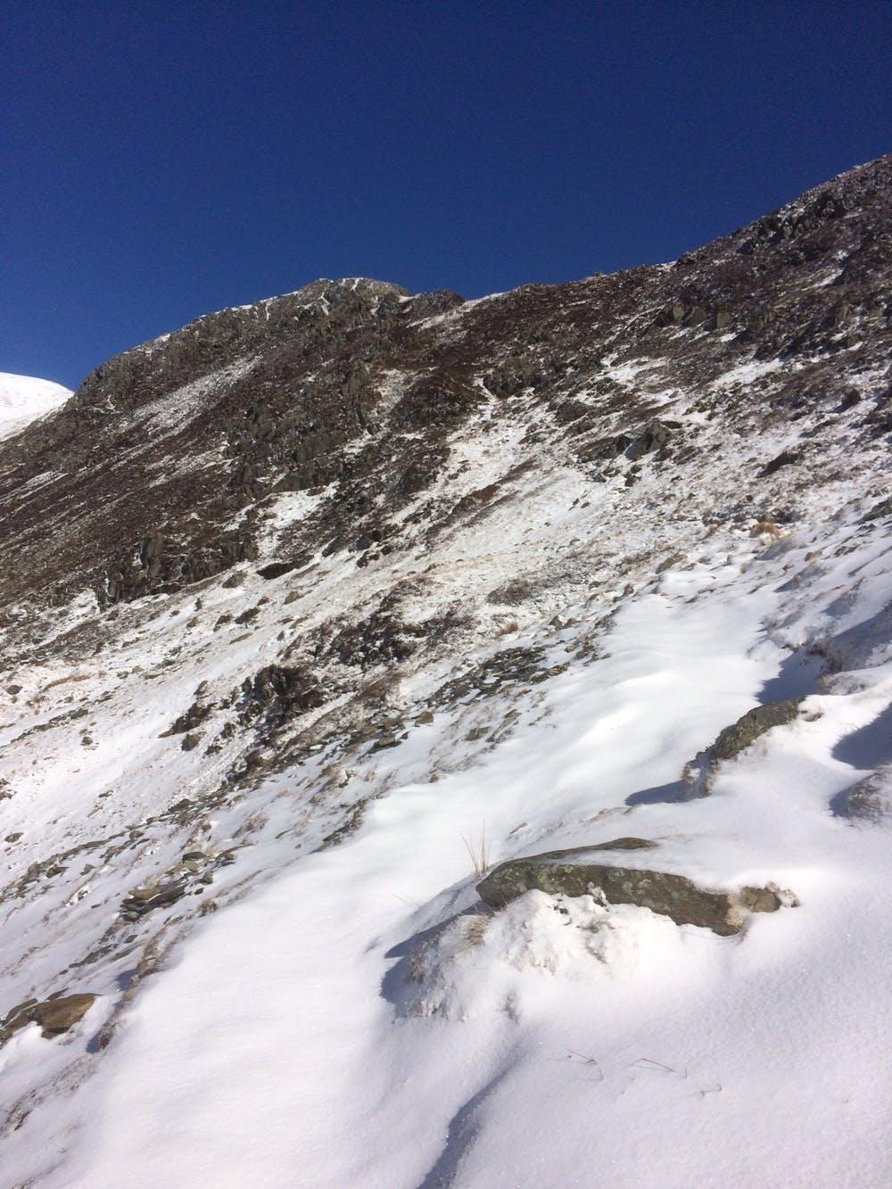 Snowdonia in the snow