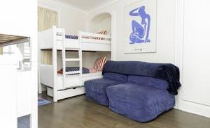 Bedroom 5 on first floor - double bunk room
