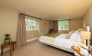 Pitsworthy: Bedroom 5 is on the ground floor and has an en suite shower room