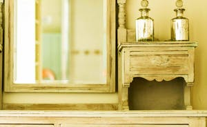 Dressing table in the Master Dressing Room