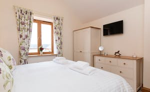 Foxhill Lodge - Bedroom 4 can have a superking or twin beds