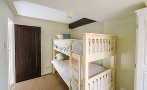One of the bunkbed rooms