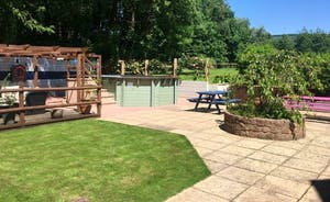 Decking & Pool Area