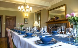 Bossington Hall - A delightful period setting for a celebratory feast