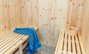 Indoor sauna