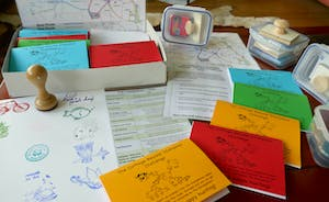 The Cottage Beyond: Get the whole family rarin' to go on the Stamp Box Challenge!