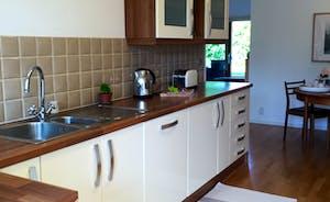 Lovely sunny kitchen