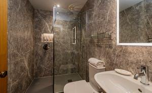 Kingshay Barton - The en suite shower room for Bedroom 9 (St Ryan)