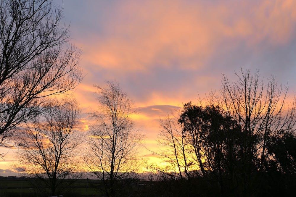 Magical sunrise at bodfan