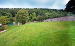 The Old Rectory - A huge walled garden with views of the Quantock Hills - an area of Outstanding Natural Beauty