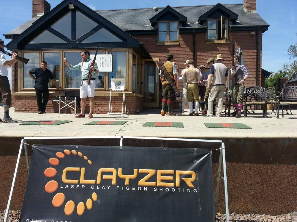 Lazer Clay Pigeon Shooting at Wayside House