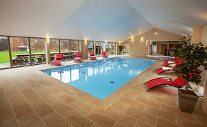 Beaverbrook 30 - Not only a fantastic heated pool, but down the end, a sunken hot tub and a sauna
