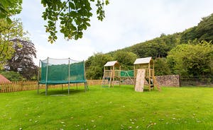 The Old Rectory - Children will love the big garden, with a trampoline and play equipment