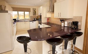 Crowcombe -  An up to the minute kitchen with all you need when catering for a large group