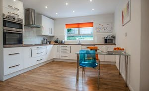 Kitchen comprehensively equipped modern fitted units