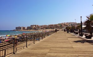 promenade at La Mata beach