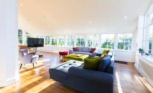 Pitmaston House - The huge open plan living space is stylish, light and airy