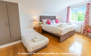 Croftview - 4 of the bedrooms have the option of an additional pull-out single bed (charged extra)