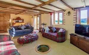 Dancing Hill - A charming sitting room anytime of  the year