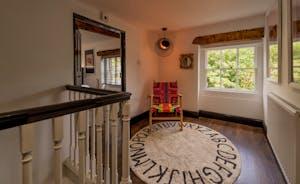 Hesdin Hall - Both floors have a spacious landing