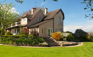 A truly unique house set in a wonderful landscaped garden