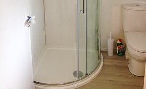 New Shower Room with underfloor heating